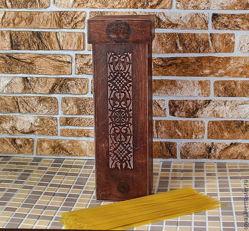 Box for spaghetti country 'Gragnano', Storage Box, ,  Фото №1