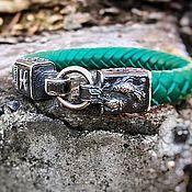 Украшения handmade. Livemaster - original item Melchior bracelet zodiac Pisces, leather. Handmade.