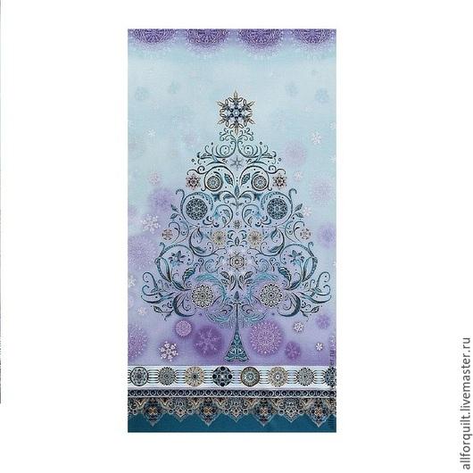 Шитье ручной работы. Ярмарка Мастеров - ручная работа. Купить Панель Winter's Grandeur,  58 х110 см. США. Handmade.