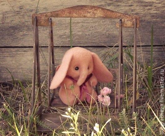 слоник игрушка из шерсти, слоник из войлока шерсти, слоненок игрушка, игрушка слоненок из шерсти войлока, розовый слоник, розовый слон игрушка, розовый игрушка из шерсти, купить розового слона,слоняша
