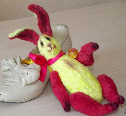 Мишки Тедди ручной работы. Ярмарка Мастеров - ручная работа. Купить Кукусик Заяц Летний. Handmade. Teddy, зайка тедди