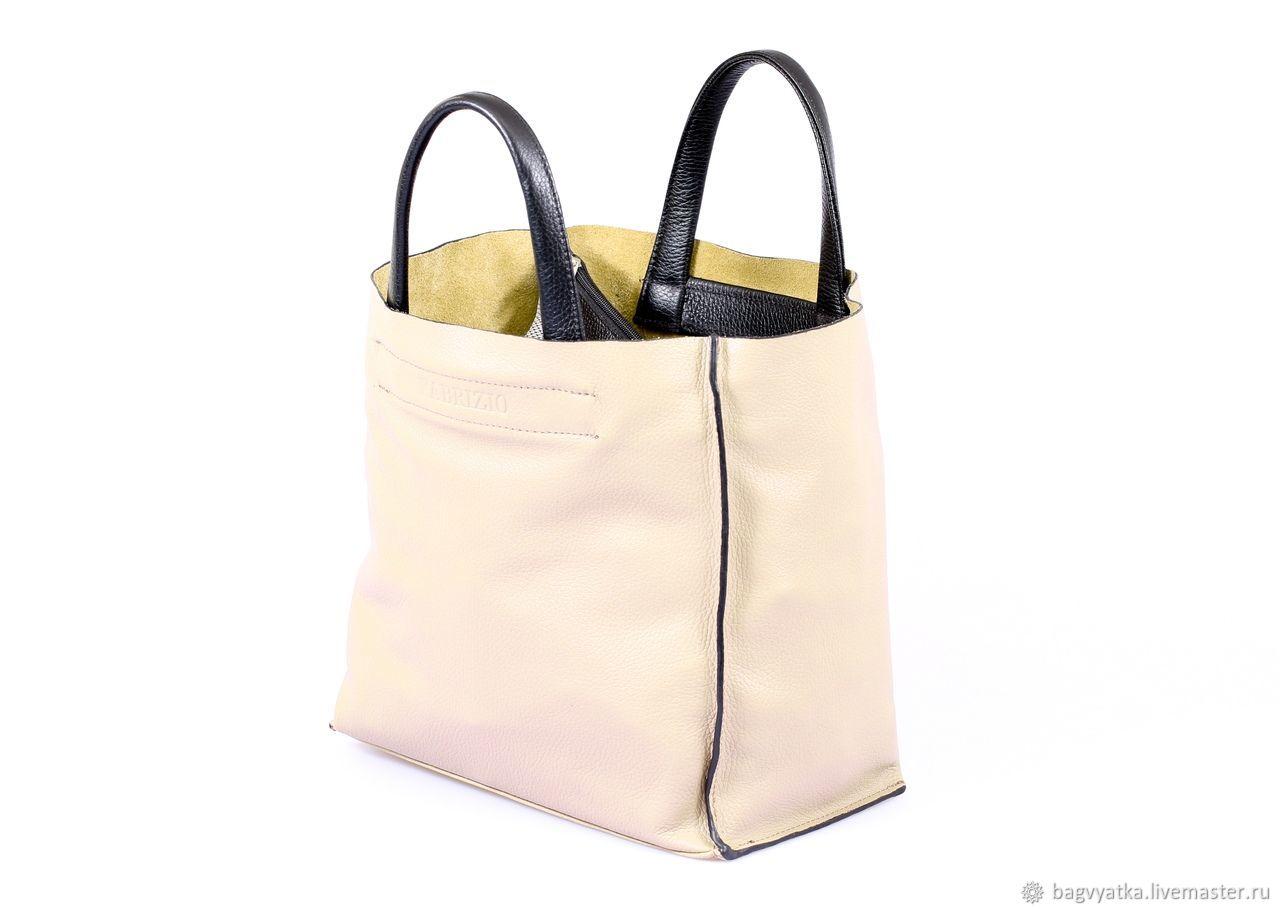 0eb24e30fcb1 бежевый, шоппинг натуральная кожа, вместительная сумка сумка для шоппинга,  сумка натуральная шопер, ...