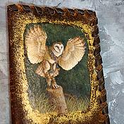 Сумки и аксессуары handmade. Livemaster - original item Passport cover Owl 2.. Handmade.