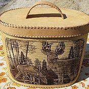 Для дома и интерьера handmade. Livemaster - original item Large oval bread box