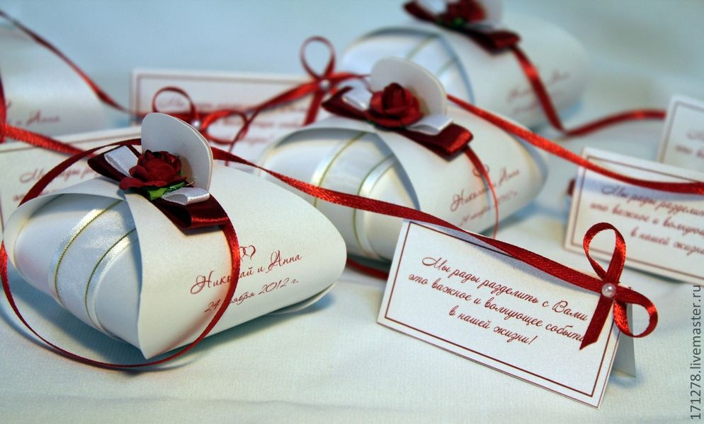 Надписи на подарках для гостей 700