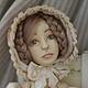 Будуарная кукла, кукла ручной работы, Будуарка, Будуарочка, кукла коллекционная, кукла интерьерная, кукла лепная из глины, кукла, кукла лепная, кукла в подарок, будуарная кукла кукла ручной работы
