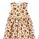 Одежда для девочек, ручной работы. Ярмарка Мастеров - ручная работа. Купить Платье - ручная работа (200379). Handmade. Бежевый