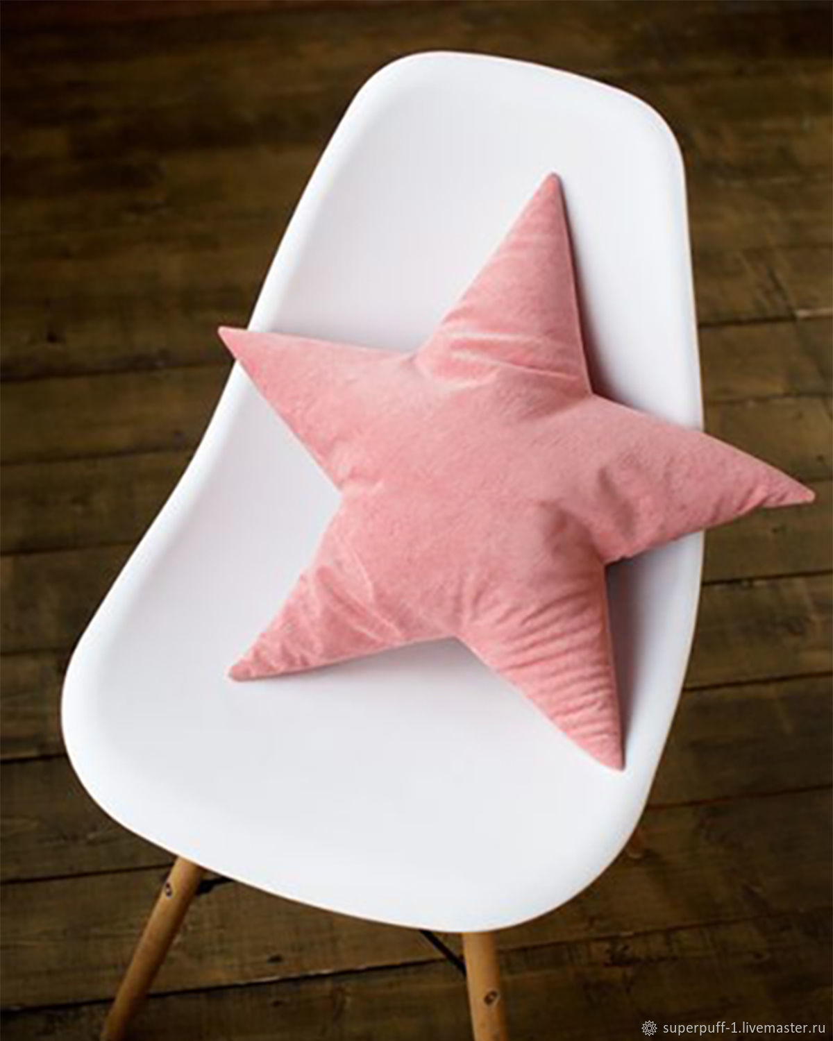 Decorative pillow star Pink Superpuff, Pillow, Moscow,  Фото №1