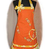 Для дома и интерьера ручной работы. Ярмарка Мастеров - ручная работа Фартук  Жирафы малые. Handmade.