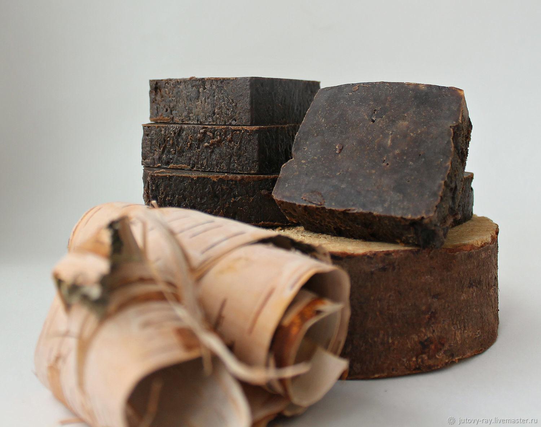 """Натуральное мыло на отваре коры дуба с дёгтем """"Дегтярное"""", Мыло, Вологда,  Фото №1"""