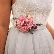 Свадебный салон ручной работы. Ярмарка Мастеров - ручная работа Выпускное платье. Handmade.
