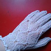 Аксессуары ручной работы. Ярмарка Мастеров - ручная работа перчатки ажурные. Handmade.
