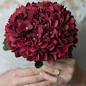 Свадебный салон handmade. Livemaster - original item Wedding bouquet with hydrangeas. Handmade.