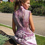 Одежда handmade. Livemaster - original item Copyright felted vest