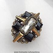 Украшения handmade. Livemaster - original item Brooch Bronze star. Handmade.