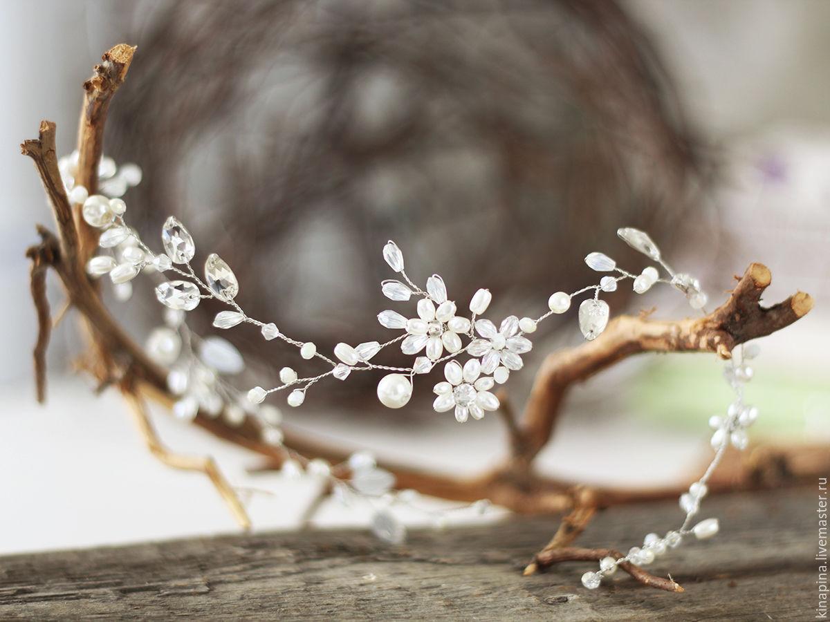 Свадебные веточки для волос купить