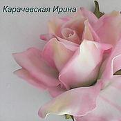 Аксессуары ручной работы. Ярмарка Мастеров - ручная работа Нежная роза. Handmade.