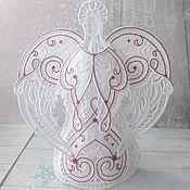 Сувениры и подарки handmade. Livemaster - original item Lace angel big. Angel lace. Handmade.