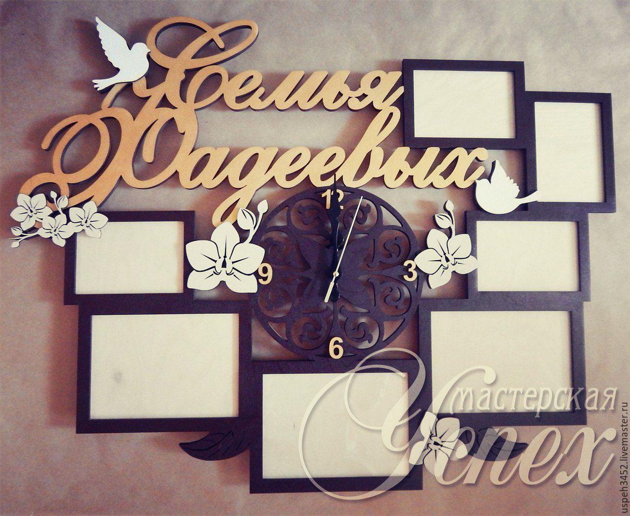 Рамка для фото в подарок на свадьбу