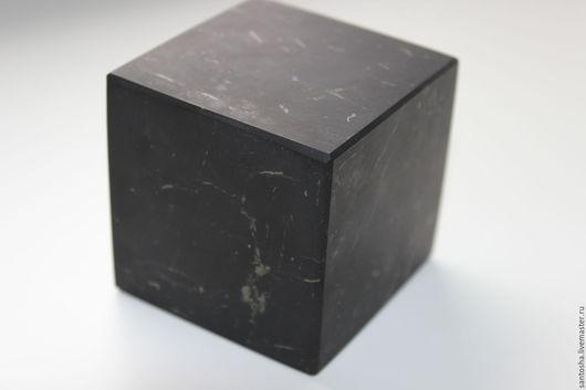 Минералы, друза ручной работы. Ярмарка Мастеров - ручная работа. Купить Куб из натурального шунгита. Handmade. Черный, куб из шунгита