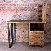 Столы ручной работы. Ярмарка Мастеров - ручная работа Маникюрный (письменный, рабочий) стол LOFT. Handmade.