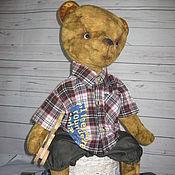 Куклы и игрушки ручной работы. Ярмарка Мастеров - ручная работа Мишка Тедди (54см). Данила. Handmade.