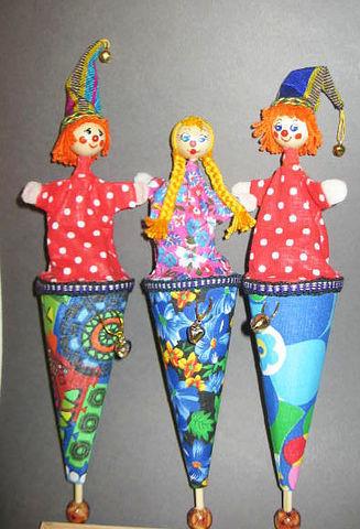 Развивающие игрушки ручной работы. Ярмарка Мастеров - ручная работа. Купить Куклы в кулечках. Handmade. Куклы ручной работы, комбинированный