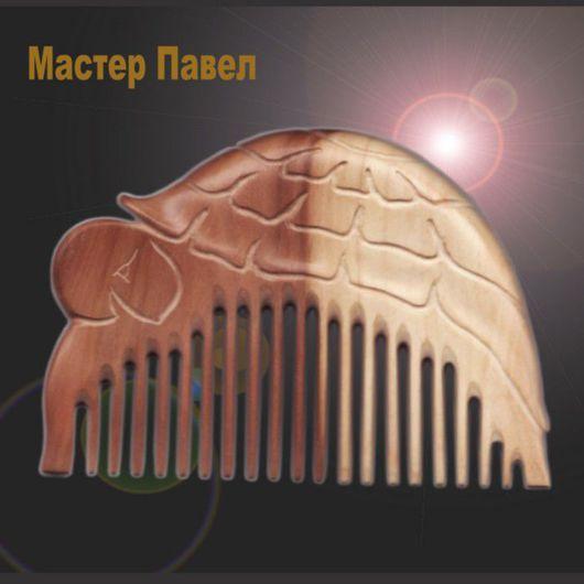 Гребни, расчески ручной работы. Ярмарка Мастеров - ручная работа. Купить Черепаха. Handmade. Wooden comb, деревянный гребень