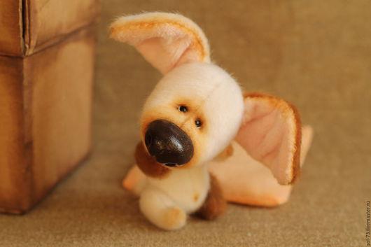 Мишки Тедди ручной работы. Ярмарка Мастеров - ручная работа. Купить Собака большая 5! 10 см без ушей!. Handmade.