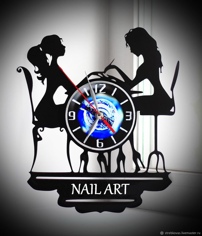 Wall Clock Nail Art, Watch, Krasnoyarsk,  Фото №1