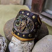 Украшения ручной работы. Ярмарка Мастеров - ручная работа Стимпанк-браслет. Handmade.