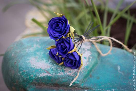 Заколки ручной работы. Ярмарка Мастеров - ручная работа. Купить Шпильки с цветами. Handmade. Комбинированный, шпильки с розами