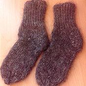 Работы для детей, ручной работы. Ярмарка Мастеров - ручная работа Пуховые носочки для детей (козий пух). Handmade.