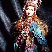 Народная кукла ручной работы. Ярмарка Мастеров - ручная работа Авторская коллекционная кукла из полиуретана Таисия. Handmade.