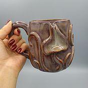 Посуда handmade. Livemaster - original item Ceramic potter`s mug