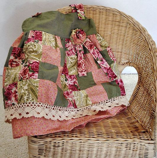 Одежда для девочек, ручной работы. Ярмарка Мастеров - ручная работа. Купить В ожидании весны. Handmade. Лоскутный, хлопковое платье