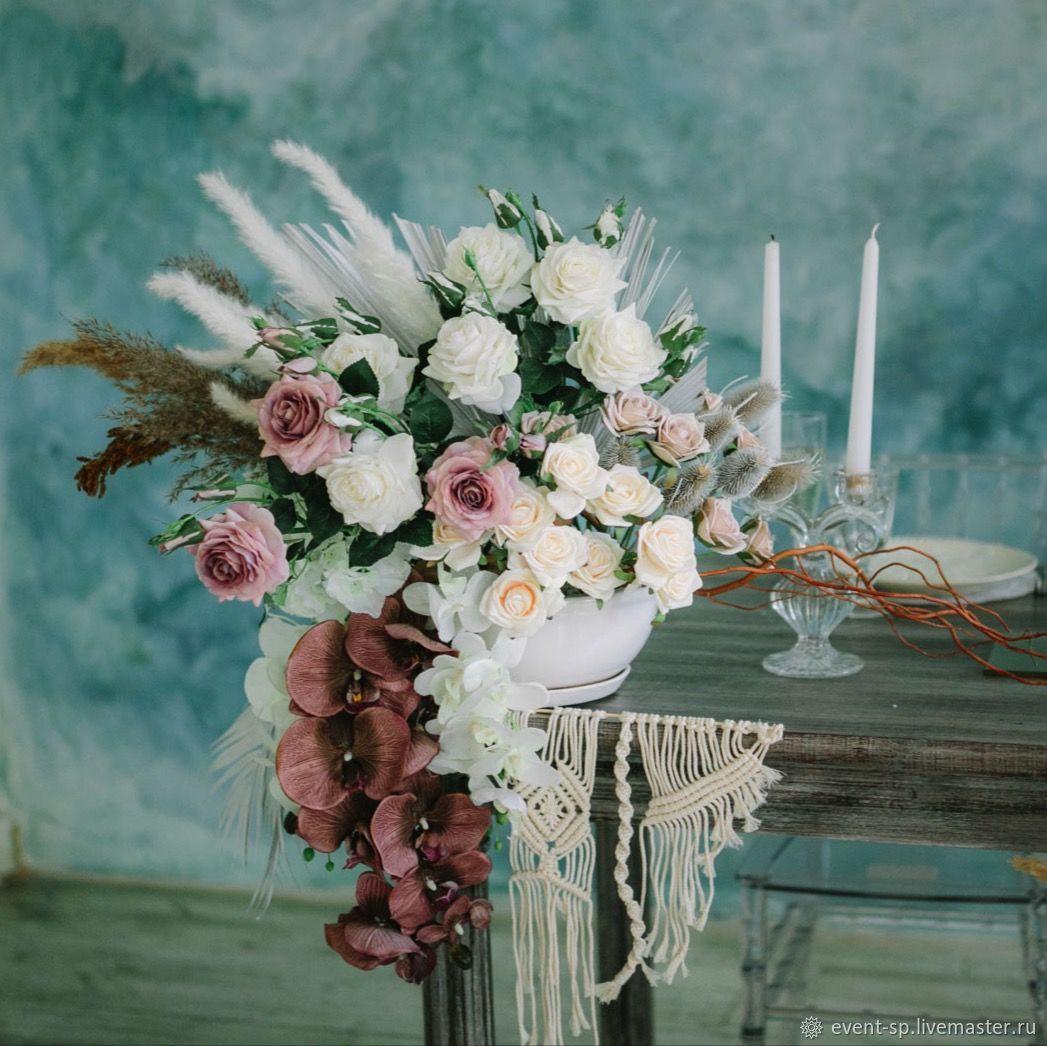 Настольная композиция, Цветы, Москва,  Фото №1