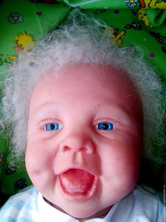 Куклы-младенцы и reborn ручной работы. Ярмарка Мастеров - ручная работа. Купить Reborn Baby Весельчак – Семён. Handmade.