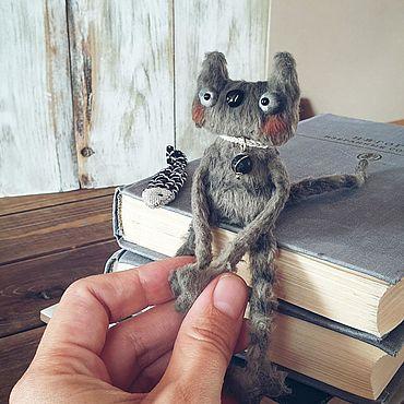 Куклы и игрушки ручной работы. Ярмарка Мастеров - ручная работа Игрушки: кот Мультик. Handmade.