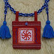 Русский стиль handmade. Livemaster - original item Lukomnik with a Cross and the Lada-virgin. Handmade.