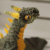Куклы и игрушки ручной работы. Ярмарка Мастеров - ручная работа Рэйгаль, валяный дракон. Handmade.