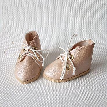 Куклы и игрушки ручной работы. Ярмарка Мастеров - ручная работа Ботинки для кукол Паола Рейна и текстильных кукол. Handmade.