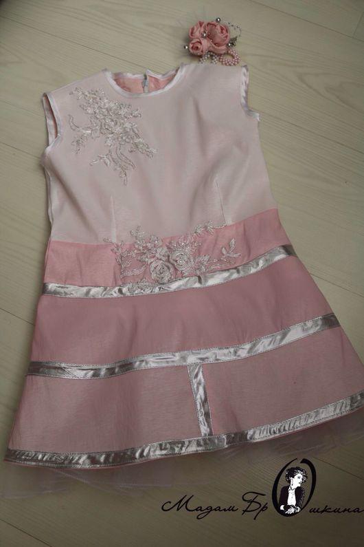 Платья ручной работы. Ярмарка Мастеров - ручная работа. Купить Нежное платье принцессы. Handmade. Платье, платье для девочки, молния