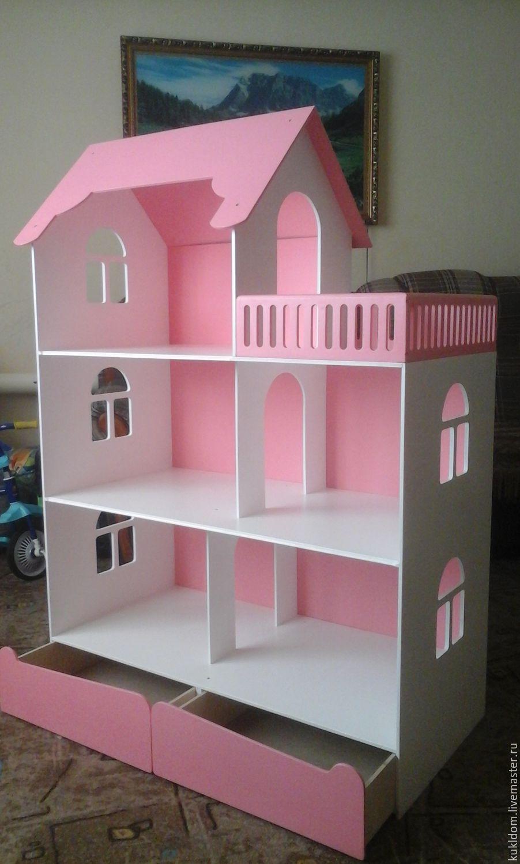 Из фанеры кукольный домик для барби
