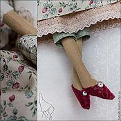Куклы и игрушки ручной работы. Ярмарка Мастеров - ручная работа Линн, кукла в стиле Тильда. Handmade.
