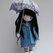 Куклы и игрушки ручной работы. Ярмарка Мастеров - ручная работа Девочка с зонтиком.по картинке  Сюзен  Вулкотт... авторская работа.... Handmade.