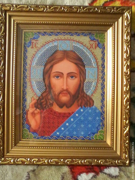Иконы ручной работы. Ярмарка Мастеров - ручная работа. Купить Икона Христа Спасителя (венчальная икона). Handmade. Венчальная пара