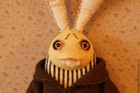 Игрушки животные, ручной работы. Ярмарка Мастеров - ручная работа. Купить Кролик Maker. Handmade. Текстильная игрушка, игрушка в подарок