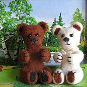 """Куклы и игрушки ручной работы. Ярмарка Мастеров - ручная работа мишки """"Женишки"""". Handmade."""