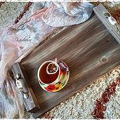 Для дома и интерьера ручной работы. Ярмарка Мастеров - ручная работа Поднос для завтрака. Handmade.